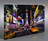 Times Square New York City NYC Cityscape Photo Picture 100 x 65 cm * huge modern canvas art print gallery framed ready to hang 40