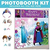 Costume Supercenter BBKIT1029 Frozen Photo Booth Kit