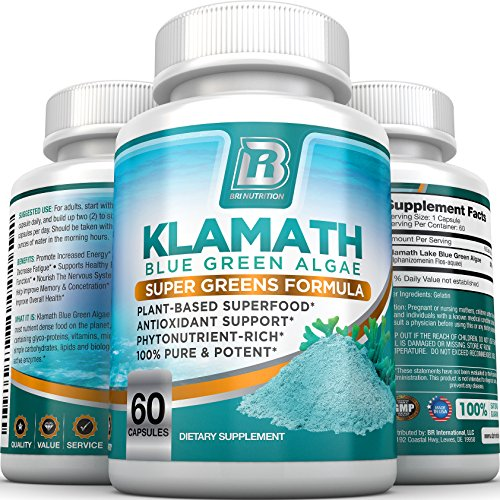 BRI-Nutrition-Klamath-Blue-Green-Algae-More-Effective-Than-Spirulina-or-Chlorella-Grown-From-The-Clean-Pure-Source-Of-Klamath-Lake-500mg-60ct-Gel-Capsules