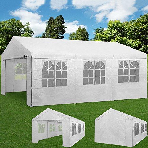festzelt 6x3m pavillon partyzelt bierzelt gartenzelt. Black Bedroom Furniture Sets. Home Design Ideas