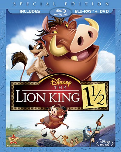 Cover art for  The Lion King 1 1/2 Special Edition (Two-Disc Blu-ray/DVD Combo in Blu-ray Packaging)