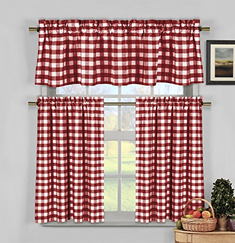 How To Hang Curtains Without A Rod Red Gingham Blankets