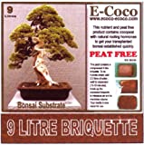 BONSAI TREE SOIL (18 LITRES COMPRESSED BRIQUETTES) SOIL FOR BONAI TREES, LITTLE TREES POTTING OR REPOTTING