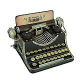 Upper Deck, LTD Black Vintage Finish Tin Antique Typewriter Coin Bank (Color: Black)