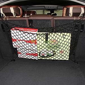 Amazon.com: AndyGo Car Backseat Hammock Style Cargo Net