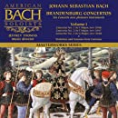 Bach Brandenburg Concertos 1-3 (Vol 1) American Bach Soloists Jeffrey Thomas