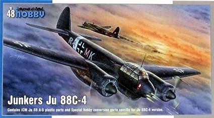 Maquette avion : Junkers Ju 88C-4