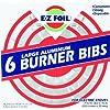 Hefty EZ Foil Large Aluminum 6 Burner Liners For Electric Stove
