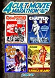 Cult Movie Marathon, Vol  2 (Savage Island, Chatterbox, The Naked Cage & Angels from Hell)