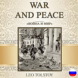 War and Peace [Russian Edition] Hörbuch
