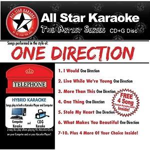 All Star Karaoke One Direction Volume 1 (ASK-611) by All Star Karaoke