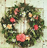 Celebration of Spring Decorative Door Wreath (24 inch)