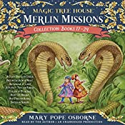Merlin Missions Collection: Books 17-24: A Crazy Day with Cobras; Dogs in the Dead of Night; Abe Lincoln at Last!; A Perfect Time for Pandas; and more | Mary Pope Osborne