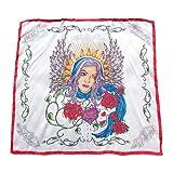 (フィリッププレイン) PHILIPP PLEIN silk scarf Ave Maria シルクスカーフ