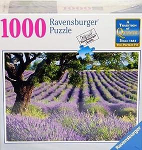 Ravensburger Puzzle Lavender Fields 1000 Piece Jigsaw Puzzle Toys Games