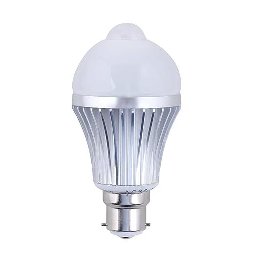 daffodil leb305 led birne lampe mit energieeffizienklasse a 5w mit bewegungssensor. Black Bedroom Furniture Sets. Home Design Ideas