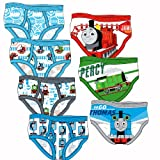 Thomas & Friends &quot;Thomas, James & Percy&quot; Set of 7 Briefs - Toddler