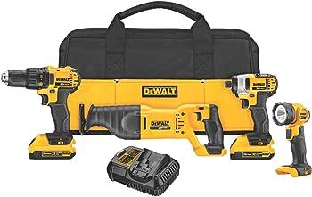 DEWALT DCK420D2 4-Tool Cordless Combo Kit