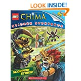 LEGO Legends of Chima: Scorpion Strike! Sticker Storybook – $2.64!