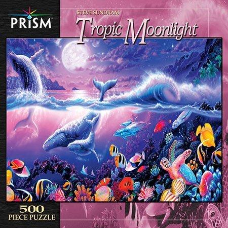 Tropic Moonlight Jigsaw Puzzle 500pc
