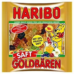 Haribo Saft Goldbaren in Resealable Bag- 450 g