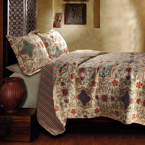 Buy Greenland Home Esprit Spice Quilt Set, King