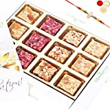 Rakhi Gifts Natural Fruit Assorted Sugarfree Sweets White Box