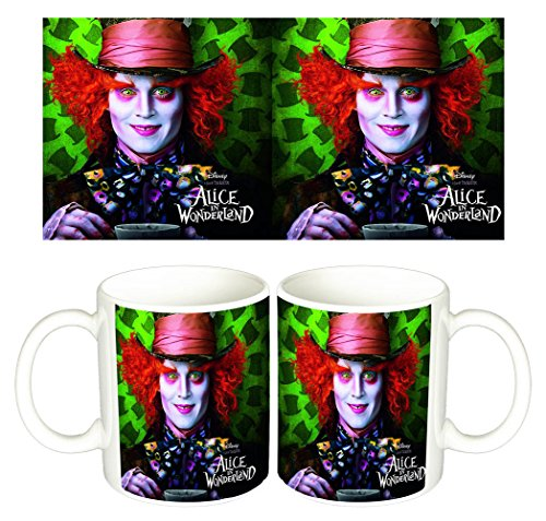 Alicia En El Pais De Las Maravillas Alice In Wonderland Johnny Depp Tazza Mug