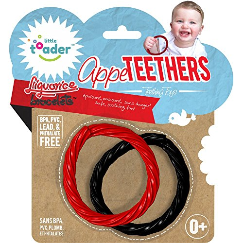 Little Toader Teething Toys, Liquorice Bracelets Appe-Teethers