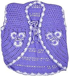 AKHIL & AARNA Girls' Wool Jacket (AA-2016-0136, Purple, 3-4 Years)