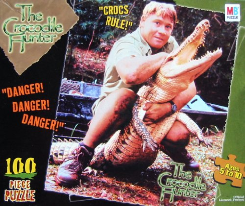 The Crocodile Hunter 100pc. Puzzle-Crocs Rule!