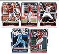 2016 Donruss Baseball Washington Nationals Team Set of 4 Cards: Bryce Harper(#57), Max Scherzer(#100), Stephen Strasburg(#154), Michael Taylor(#166) in Protective Snap Case