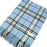 Cashmere Feel Patterened Unisex Pashmina Scarf Plaid/Checks/Stripes Available