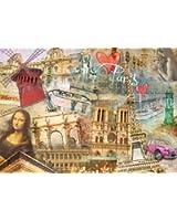 Nathan - 87728 - Puzzle - Paris Metropolitain - 1500 Pièces