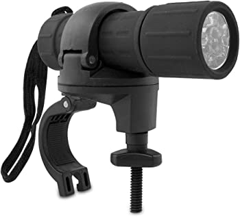 Bright 9 LED Bike Torch Bicycle Headlight