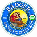 Badger Balm Aromatic Chest Rub - 0.75oz