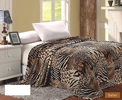 Comfort Usa Print Microplush Blanket