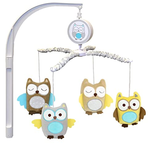 Child of Mine Treetop Friends Owl Mobile