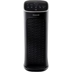 Honeywell Compact AirGenius 4 Tower Air Purifier (Black)