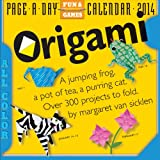 Origami 2014 Page-A-Day Calendar