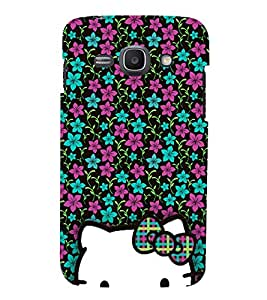 Floral Doll Design Cute Fashion 3D Hard Polycarbonate Designer Back Case Cover for Samsung Galaxy Ace 3 :: Samsung Galaxy Ace 3 S7272 Duos :: Samsung Galaxy Ace 3 3G S7270 :: Samsung Galaxy Ace 3 LTE S7275