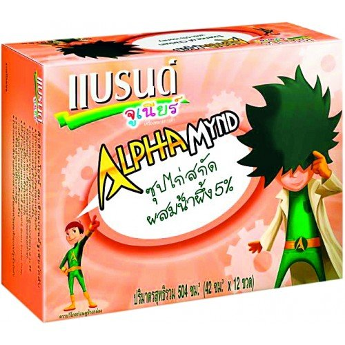 Brand'S Alphamynd Essence Of Chicken For Children Size 42 Cc. Pack 12 Bottles.