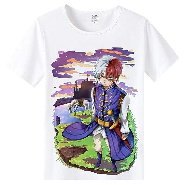DUNHAO COS Top for Boku No Hero Academia My Hero Academia Cosplay Costume T-Shirt