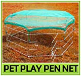 Pawhut Universal Fit Pet Dog Playpen Exercise Yard Safety Net Cover
