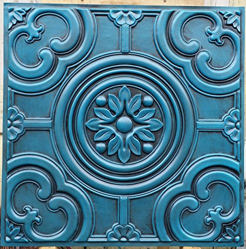 PL50 imitation finitions anceint dalles de plafond en relief Décoration Café pub shop Panneaux muraux 10pieces/lot
