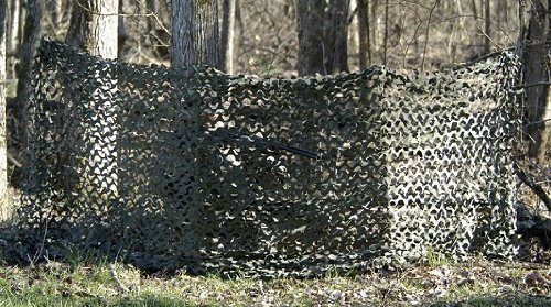 Camo Unlimited Lightweight UV Treated Waterproof Mold Resistant Blind Md: GB01 .