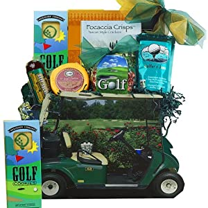 Gone Golfing! Golf Cart Gift Bag Tote