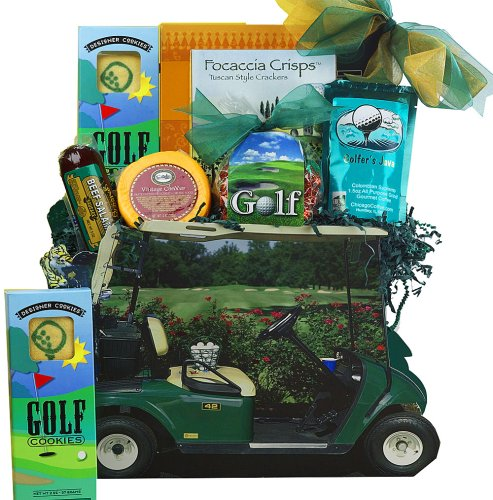 Art of Appreciation Gone Golfing! Golf Cart Gift Bag Tote -A Great Gourmet Food Gift Basket
