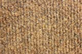3'X5' - Winter Wheat - Indoor/Outdoor Area Rug Carpet, Runners & Stair Treads with a Non-Skid Marine backing and Premium Nylon Fabric FINISHED EDGES . Olefin , 3/16