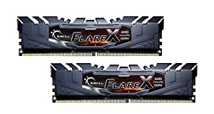 G.Skill 32GB Flare X DDR4 3200MHz PC4-25600 for AMD Ryzen CL14 Dual Channel Kit (2x16GB) (Tamaño: 32 Gb)